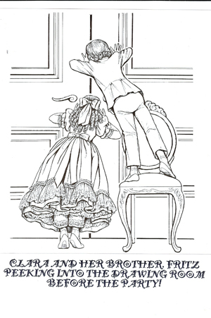 Enjoy Our Nutcracker Coloring Pages Clara And Fritz Print Friendly Version